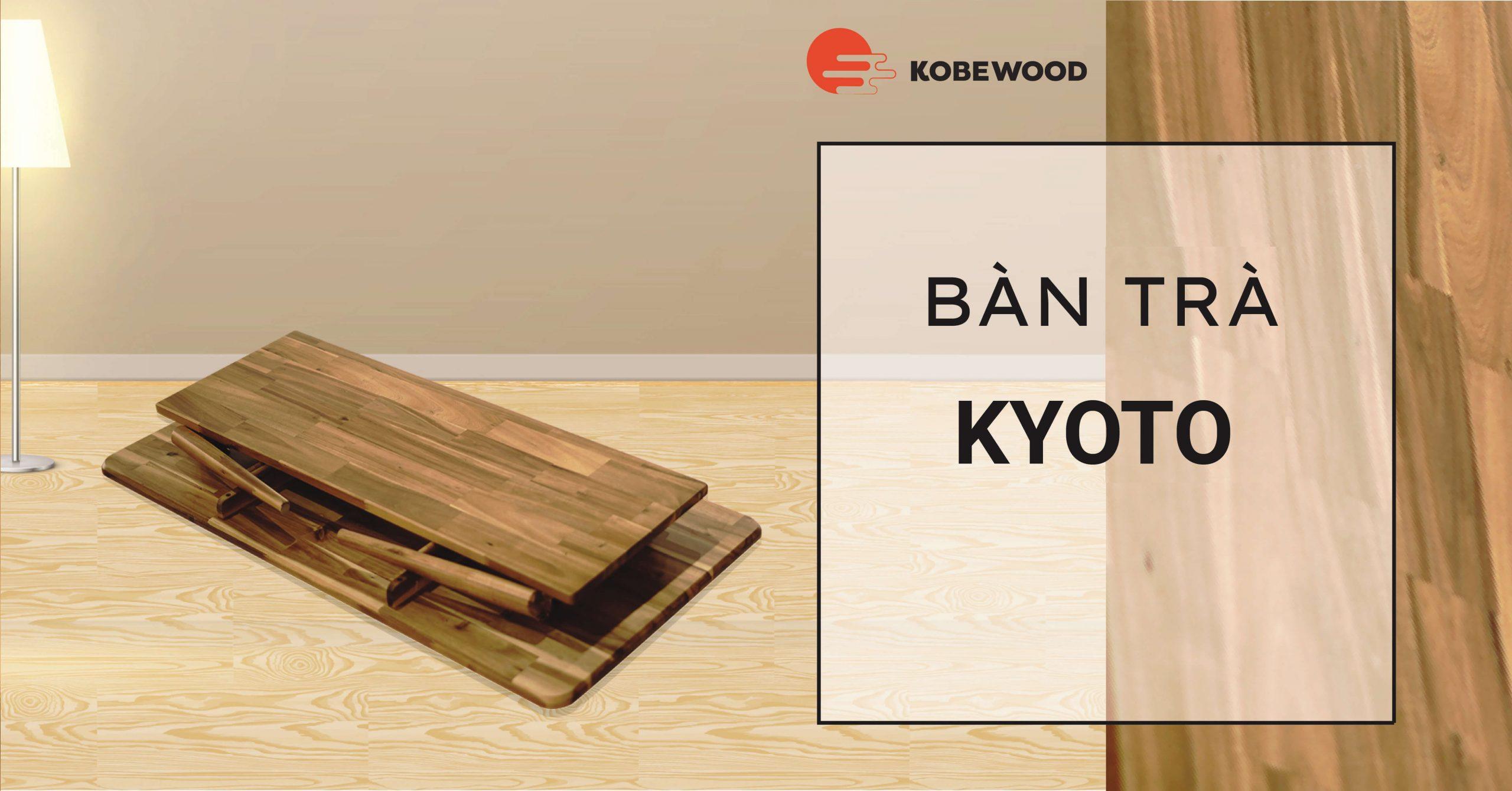 Bàn trà Nhật Bản Kyoto