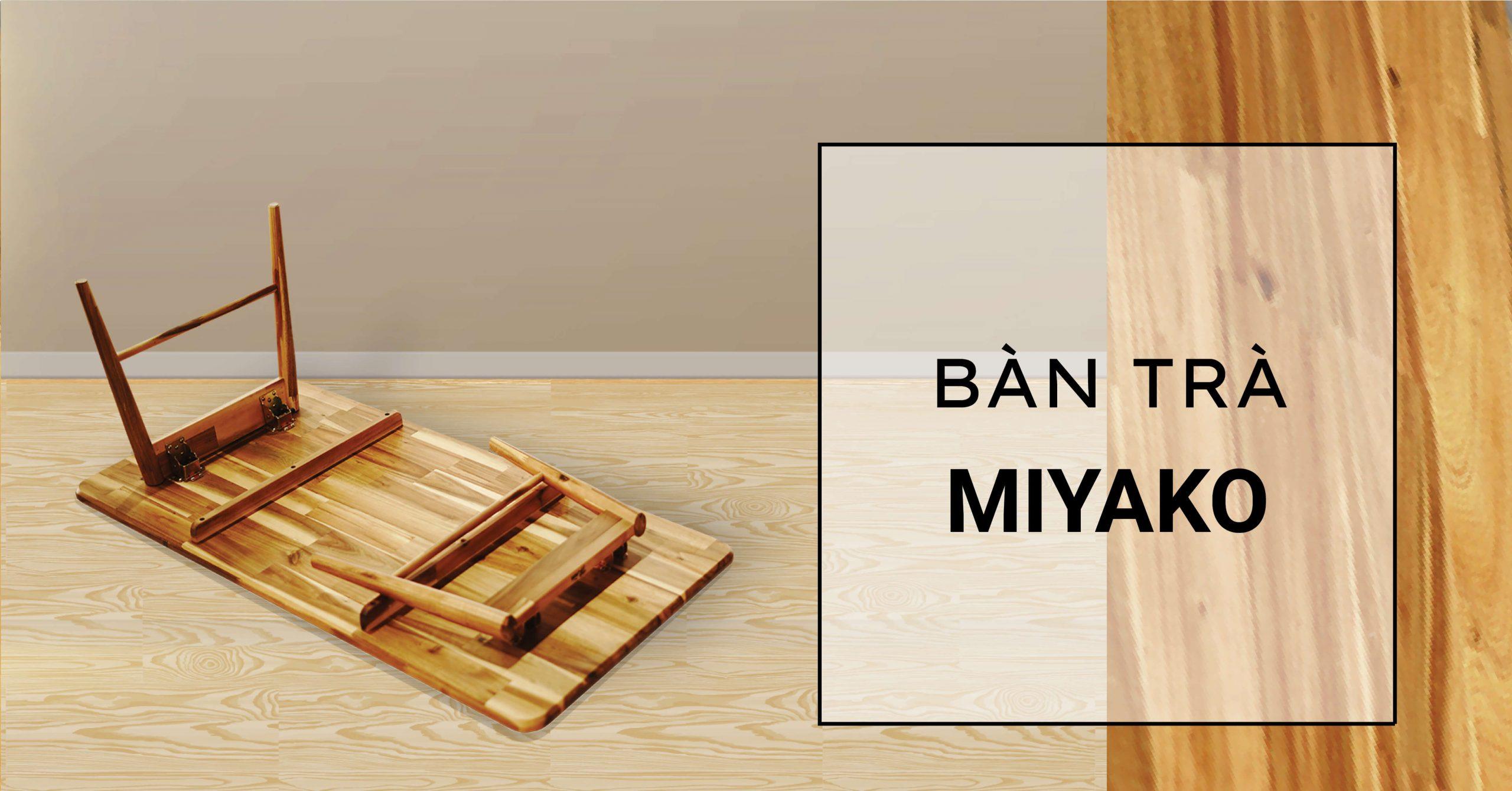 Bàn trà Nhật Bản Miyako